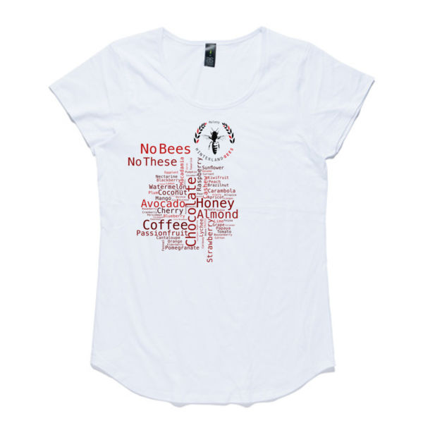 No Bees No These - Women's Mali Boutique Capped Sleeve - best seller Thumbnail